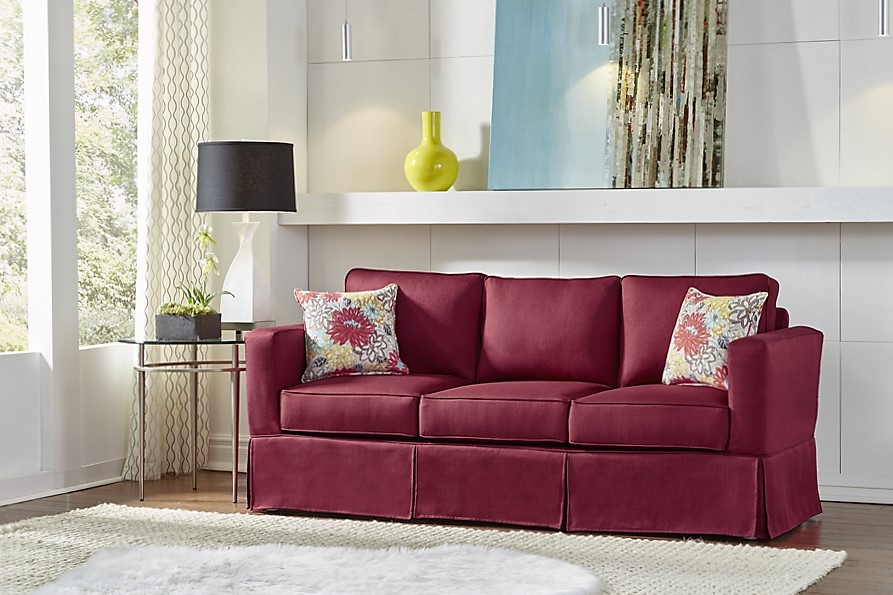 Simplicity Sofas Brandon sofa with slipcover