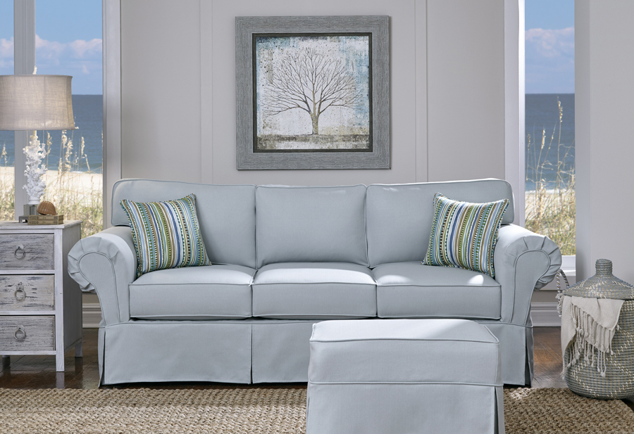 Simplicity Sofas Ashton full sofa with slipcover