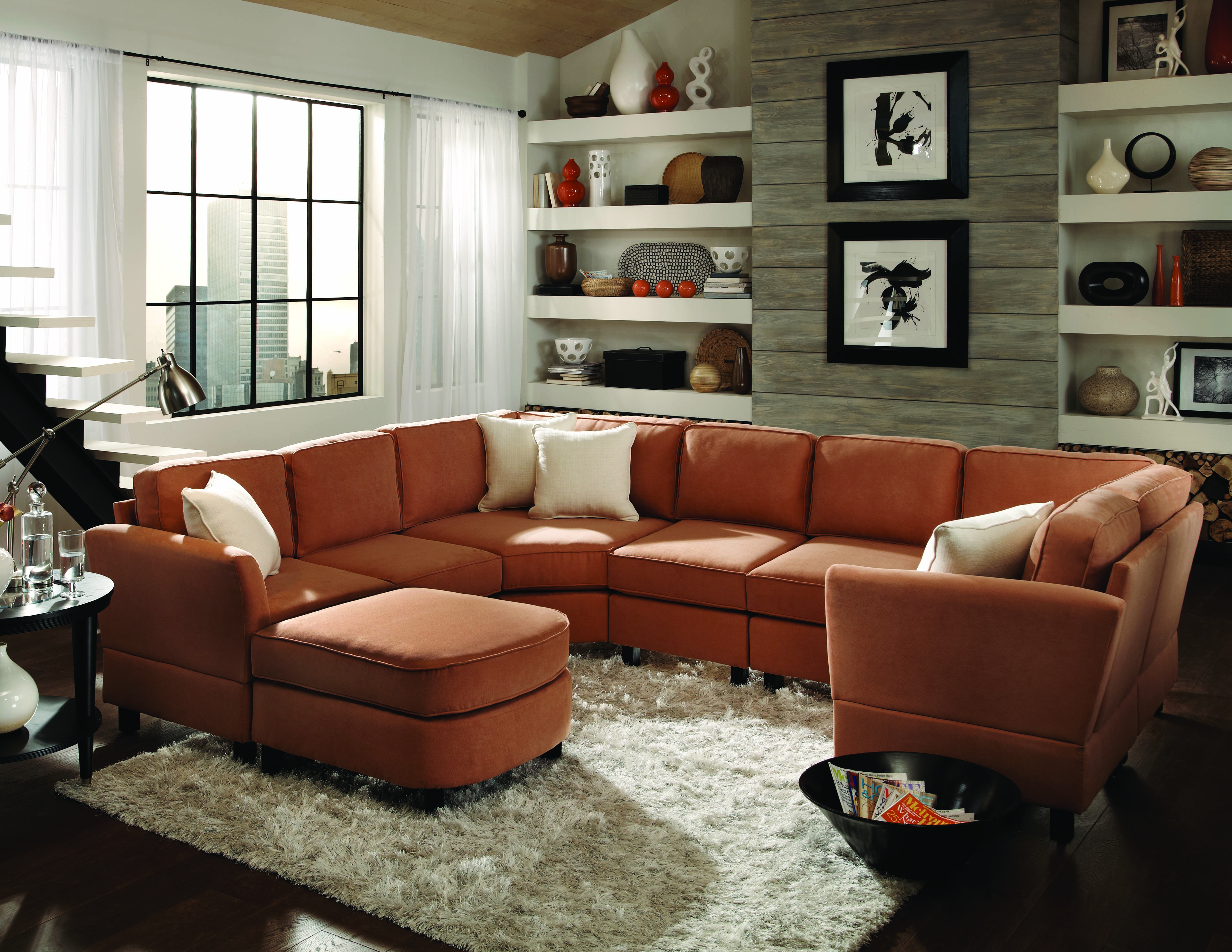 Best sofas in the usa furniture for small spaces made in - Best sectionals for small spaces ...