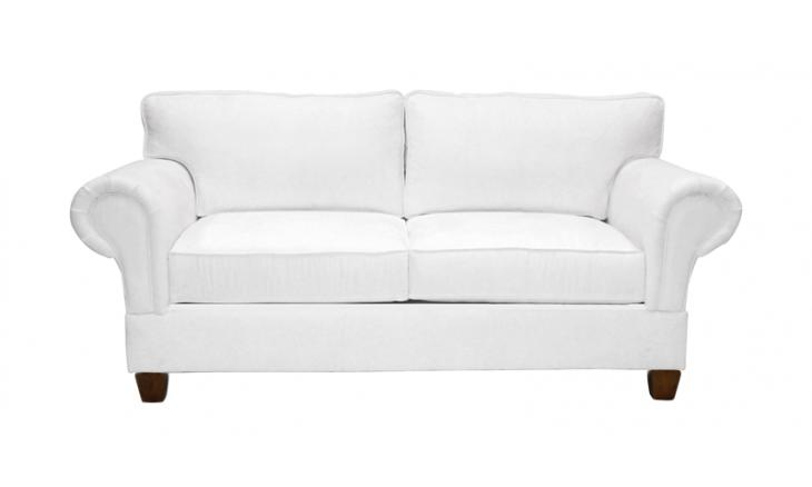 Ashton Leather Apartment Size Sofa - Simplicity Sofas