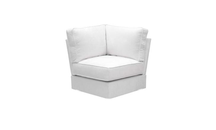 Leather Corner Chair Unit